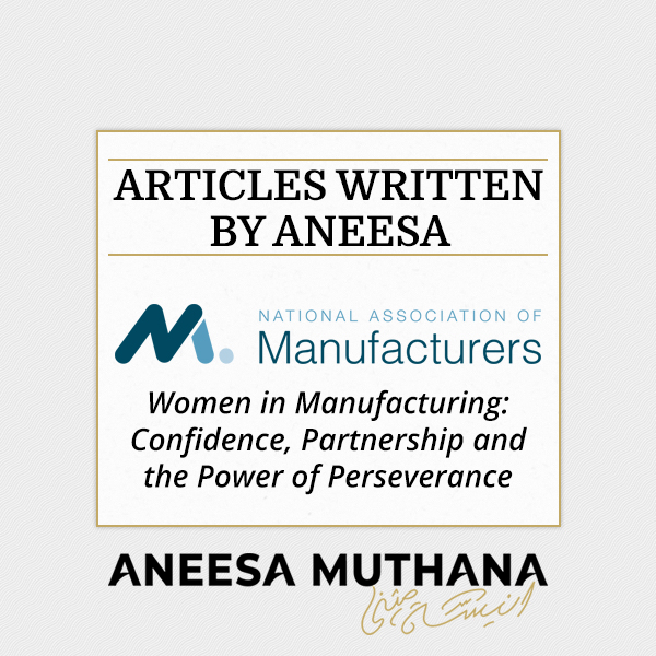 Women in Manufacturing: Confidence, Partnership and the Power of Perseverance