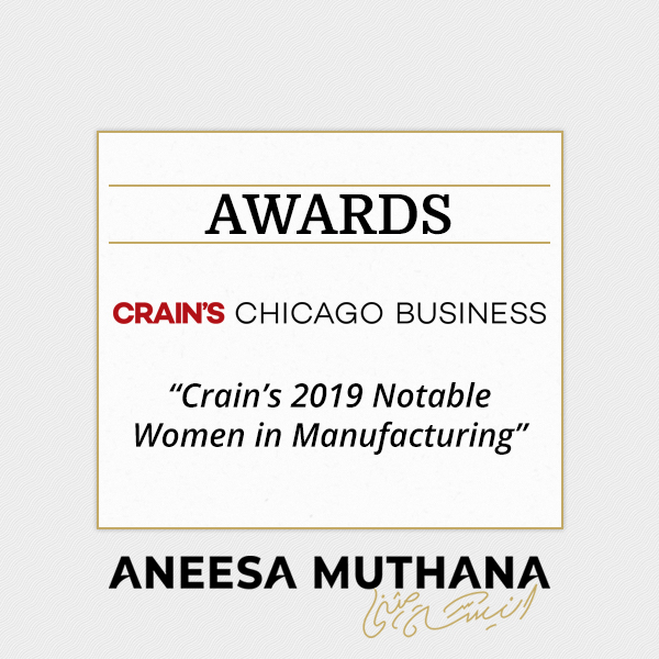 Crain's Chicago Business - Crain's 2019 Notable Women in Manufacturing