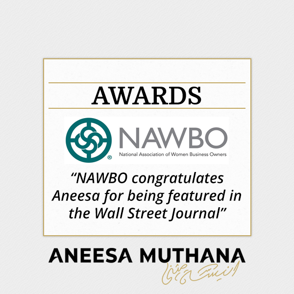 NAWBO Congratulates Anessa for Being Featured in the Wall Street Journal