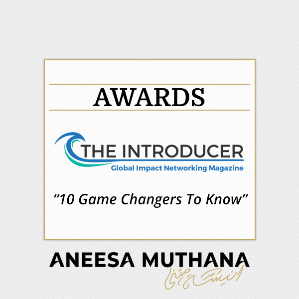 The Introducer - 10 Game Changers to Know
