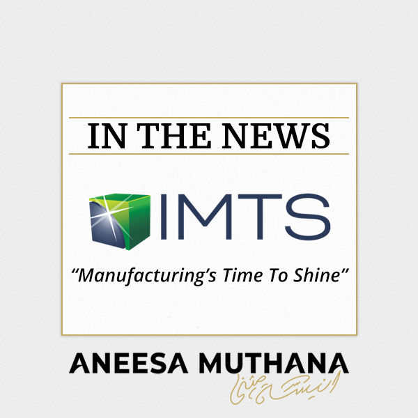 IMTS - Manufacturing's Time To Shine