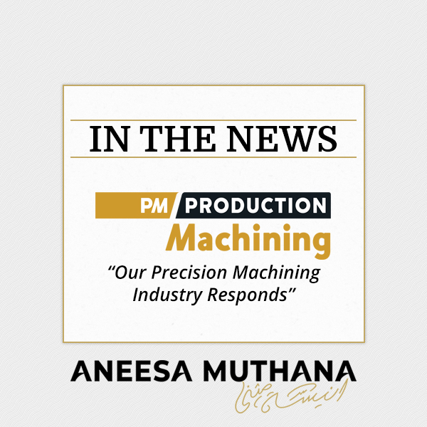 Production Machining - Our Precision Machining Industry Responds