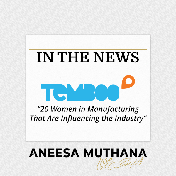Temboo Article - 20 Women in Manufacturing that are Influencing the Industry