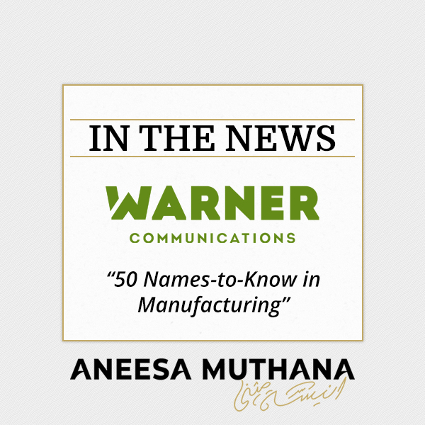 Warner Communications - 50 Names-to-Know in Manufacturing