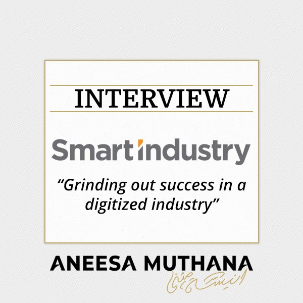 Smart Industry - Grinding out success in a digitized industry