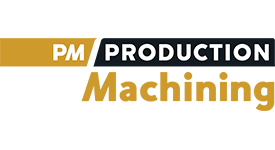 PM Production Machining Logo
